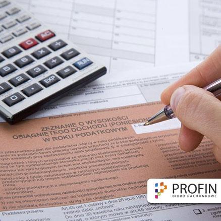 rozliczanie pit. Odpis podatku VAT. Usługi księgowe biura rachunkowego w Częstochowie